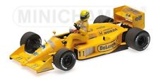 MINICHAMPS 540 874311 LOTUS HONDA 99T F1 model Senna on Nakajima's car 1987 1:43