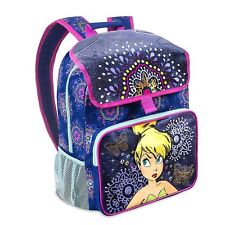 NEW Disney Store Tinker Bell Light-Up Backpack School Bag Purple