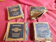 Harley Piston Ring Set, LOT of 4 (a)