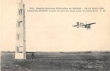 CPA AVIATION Gde SEMAINE REIMS 1909 AEROPLANE BLERIOT OPERE SON VIRAGE