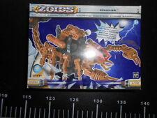 ZOIDS TOMY Hasbro SCORPIOZOID Wars GUSAK Transformers Robot Beast Animal