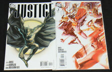 Justice Comic Lot/Run #1-2 (Vf-Nm)