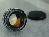 Jupiter 8m 2/53 Lens for Kiev, Contax RF camera Contax RF Vintage Soviet