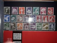 Germany 1975-82 'Industry and Technology', 3 full sets (23 stamps). Free UK P&P.