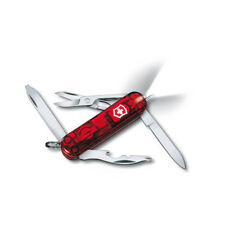 VICTORINOX MIDNITE MANAGER RUBY - SWISS ARMY POCKET KNIFE 58 MM - 10 TOOLS