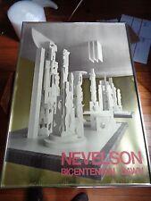 Sculptor Louise NEVELSON Silkscreen print with Gold Foil Bicentennial Dawn 1976