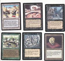 Lot de x6 cartes THE DARK Sorrow's Path..MAGIC MTG ENGLISH 1994 EX-NM
