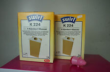 2 Packs Swirl k224 K 224 Vacuum Cleaner Bag from Warehouse resolution