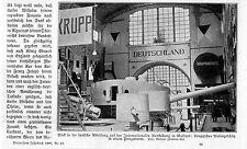 Giganti protetti della ditta Krupp a della mostra internazionale I. Milano 1906