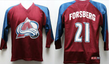"90's Vintage Ccm ""Colorado Avalanche Peter Forsberg"" Hockey Jersey Sz: Youth Xl"