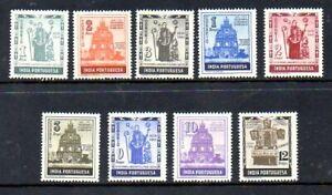 Portuguese India  - Scott #'s 507-15 - Mint Never Hinged
