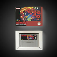 Super Metroid PAL EUR Version With Retail Box RPG Game Battery Save SNES Game