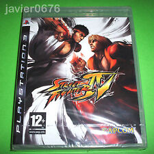 Ps3◄ juego Street Fighter Iv-1ª Edicion◄sony Playstation►game Play 3D Pal/es