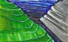 Pasaje seguro Paisaje Arte por eilidh Morris impresionista obras de arte de olas del océano