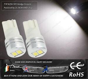 W5W T10 Wedge White LED SMD Truck Side Lights Parking Bulbs Sidelights 12v 24v