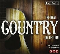 THE REAL...COUNTRY COLLECTION  3 CD (FLATT&SCRUGGS, CHET ATKINS, UVM... )  NEW!
