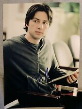 Zach Braff Original Autogramm Signed Autograph IN PERSON Inperson Scrubs