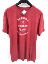 Reebok Tshirt For Men Boston Special Edition In Red Size Xl (c-1)