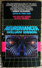 Neuromancer William Gibson Terry Carr New Ace Science Fiction Special 1984 1st