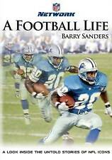 NFL: A Football Life - Barry Sanders (DVD, 2013)  Detroit Lions RB Brand New
