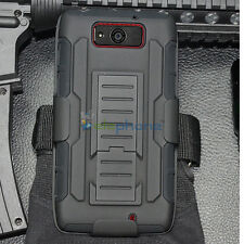 Rugged Armor Hard Cover Case Hybrid Holster For Motorola Droid Ultra/Maxx XT1080