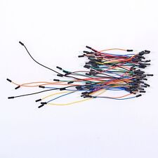 65Pcs Solderless Flexible Breadboard Jumper Cable Wires Fr Arduino Male to Male