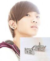 Korean DBSK TVXQ sinnger drama SHINee Key Font Earring