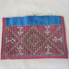 ANTIQUE EMBROIDERED HMONG HILLTRIBE COLLAR PIECE VERY FINE THAILAND