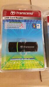 Transcend usb card reader  micro SD  SD MMC M2 (Batch of 10)