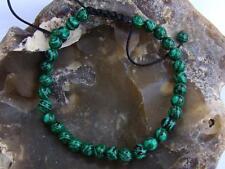 GREEN  Shamballa bracelet all 6mm Malachite beads
