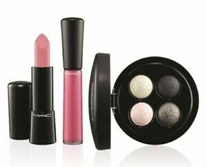 **NEW** Limited Edition MAC cosmetics Keepsakes Silver Lip and Eye Bag lipstick
