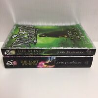 Rangers Apprentice By John Flanagan - 2 Books The Ruins Of Gorlan & The Lost Sto