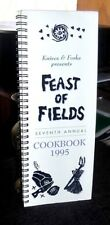 Knives & Forks Feast of Fields 7th Annual Cookbook Spiral 1995 Canadian farmers,
