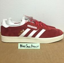 sports shoes 0d992 813e1 Adidas Originals Gazalle Super Red Vintage White Metallic Gold BB5242 Suede  nmd