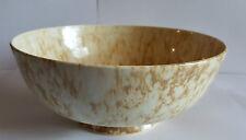 Early 20th Century Ruskin Mottled Bowl 19.5 cm diameter