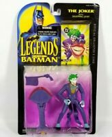 Kenner 1994 Legends of Batman THE JOKER Snapping Jaw Action Figure NIP