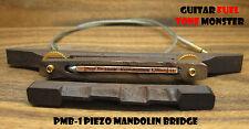 TONE MONSTER PMB-1 Piezo Mandolin Bridge Rosewood Cigar Box Tenor Guitar MIK