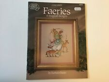 Barbara Baatz Cross Stitch Faeries Book    American School Of Needlework