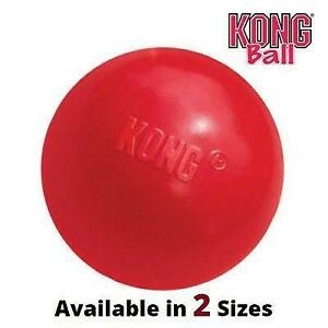 KONG Classic Rubber Ball Dog Puppy Toy (2 Sizes: S and M/L)