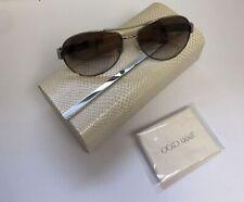 JIMMY CHOO BABA/S  9D4 QH Gold MIRROR AVIATOR  Sunglasses ITALY BB1/2