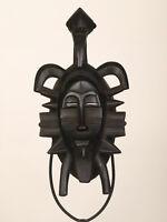 BF5 Senufo alte afrikanische Kpelye Maske / Masque Senoufo / Old tribal mask