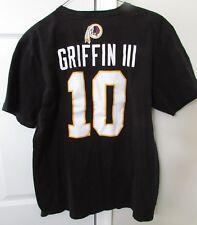 NFL Washington Redskins  10 Robert Griffin III RG 3 Shirt XL Black f31222735