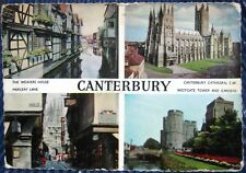 England Canterbury Weavers House Mercery Lane Cathedral Tower - posted 1963