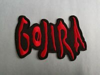 Gojira Sew or Iron On Patch
