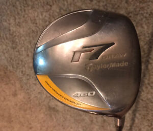 Taylormade R7 Draw 460 10.5 Right Handed Driver Regular