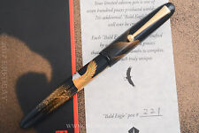 NAMIKI YUKARI BALD EAGLE LIMITED EDITION #221/700 HYAKUSEN MURATA YEAR 2000 M