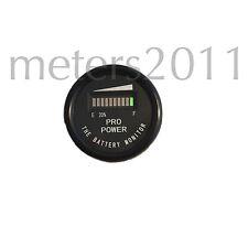 """2"""" 36 Volt Battery Charge Indicator Golfcart,Boat,Solar,Forklift PRO12-48M ™"""