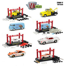 MODEL KIT 4 PIECES CAR SET RELEASE 17 1/64 DIECAST CARS BY M2 MACHINES 37000-17