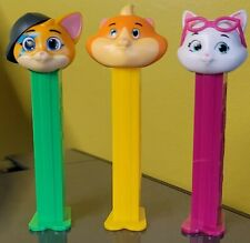 """EURO PEZ """"44 CATS"""" SET OF 3 MINT LOOSE...NEW"""