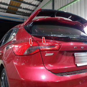 Fit For Ford Focus MK4 ST 5D Hatchback Rear Tail Light Sticker Matte Black 2020